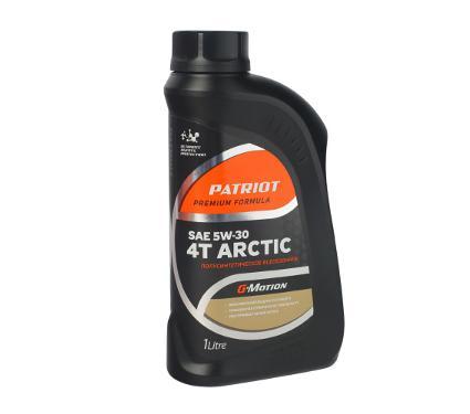 Масло PATRIOT G-Motion 5W30 4Т ARCTIC