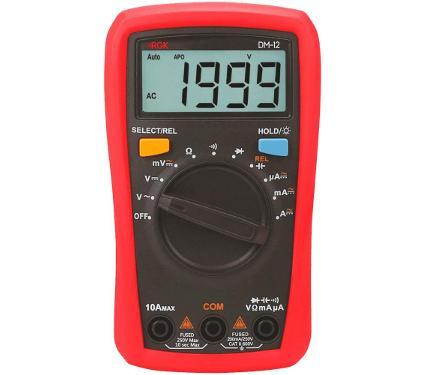 Мультиметр цифровой RGK DM-12 (776561) карманный