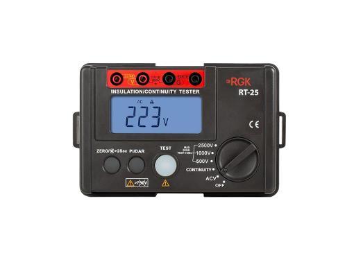 Цифровой мегаомметр RGK RT-25 (776523)