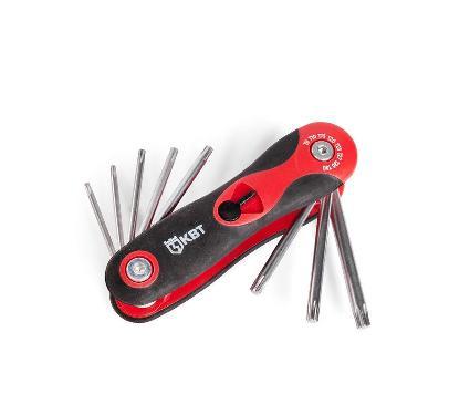 Набор ключей КВТ TORX НТК-Т-08 (80958)