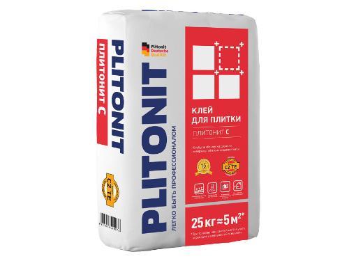 Клей плиточный PLITONIT С 5 кг