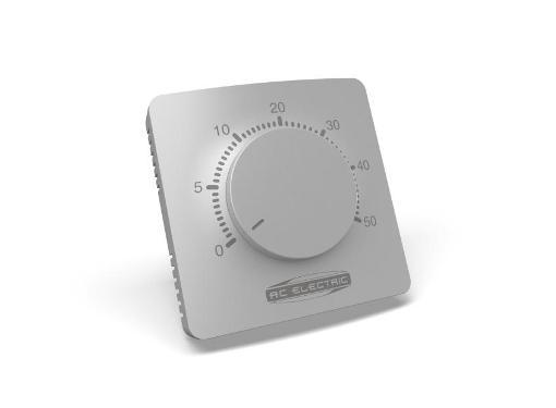 Терморегулятор AC ELECTRIC ACTR-16 белый