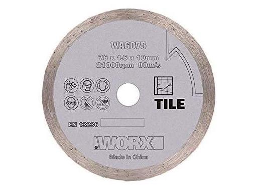 Круг алмазный WORX WA6075