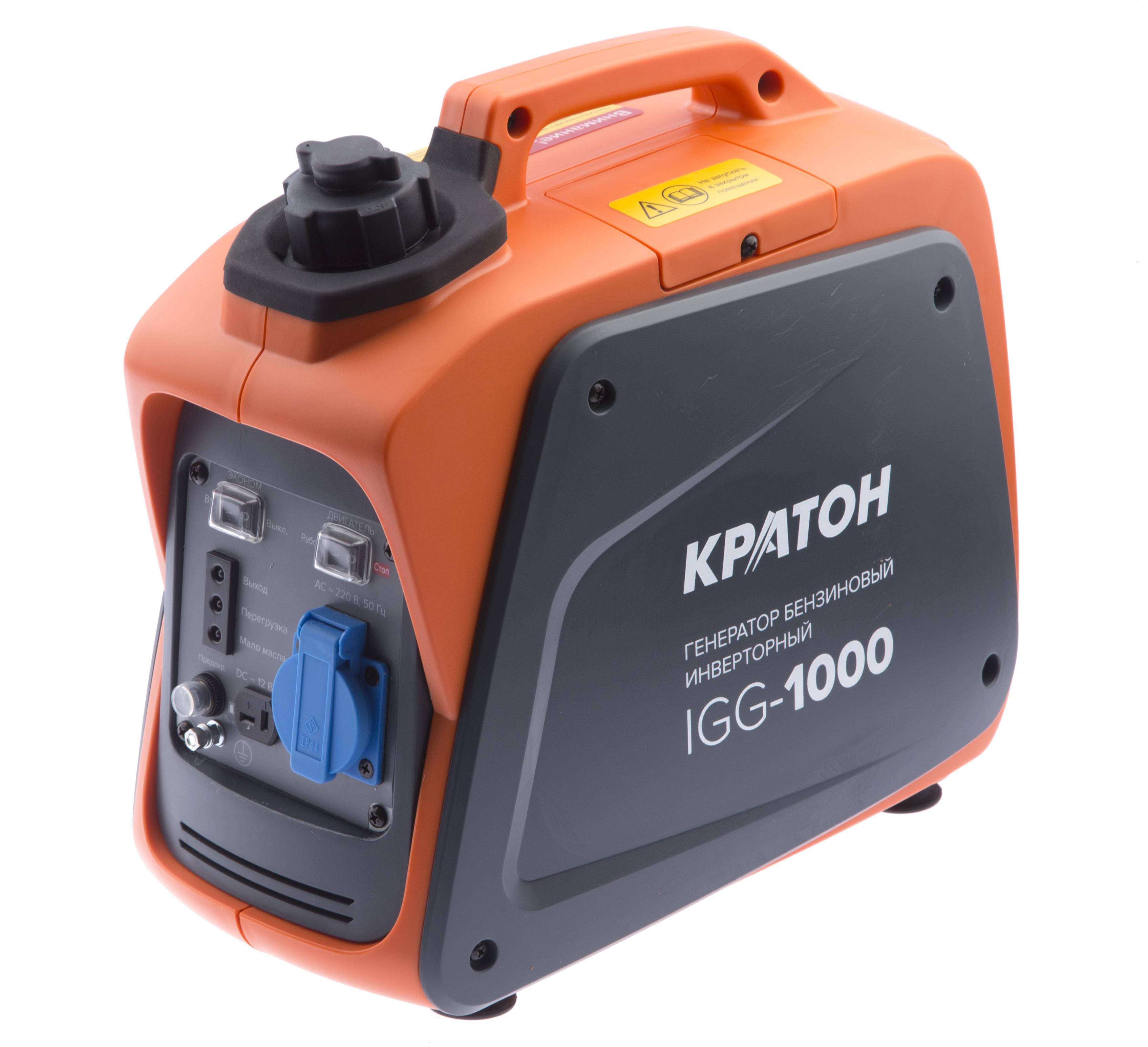 Бензиновый генератор КРАТОН Igg-1000