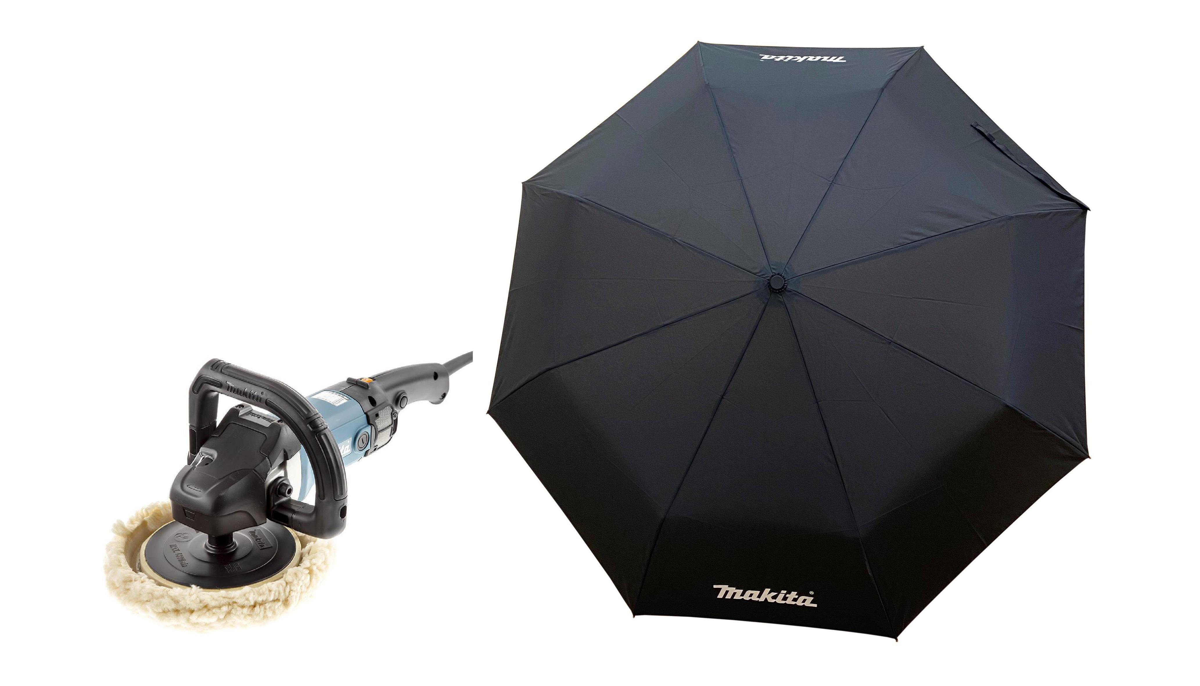 Набор Makita Машина полировальная 9237cb +Зонт складной pgh-180150