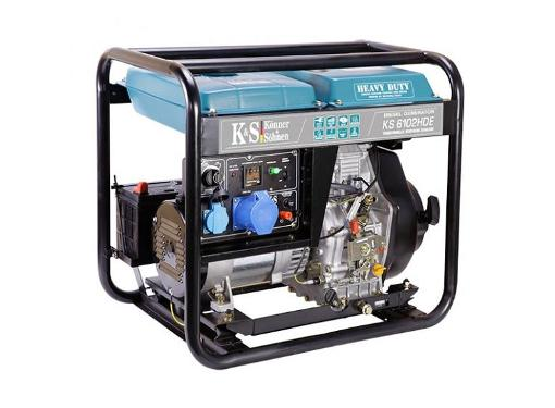Дизельный генератор KONNER&SOHNEN KS 6102HDE