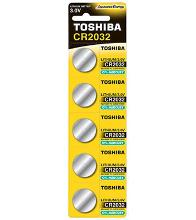 TOSHIBA 00152703 Тип: CR2032 (Кол-во в уп. 5шт.)