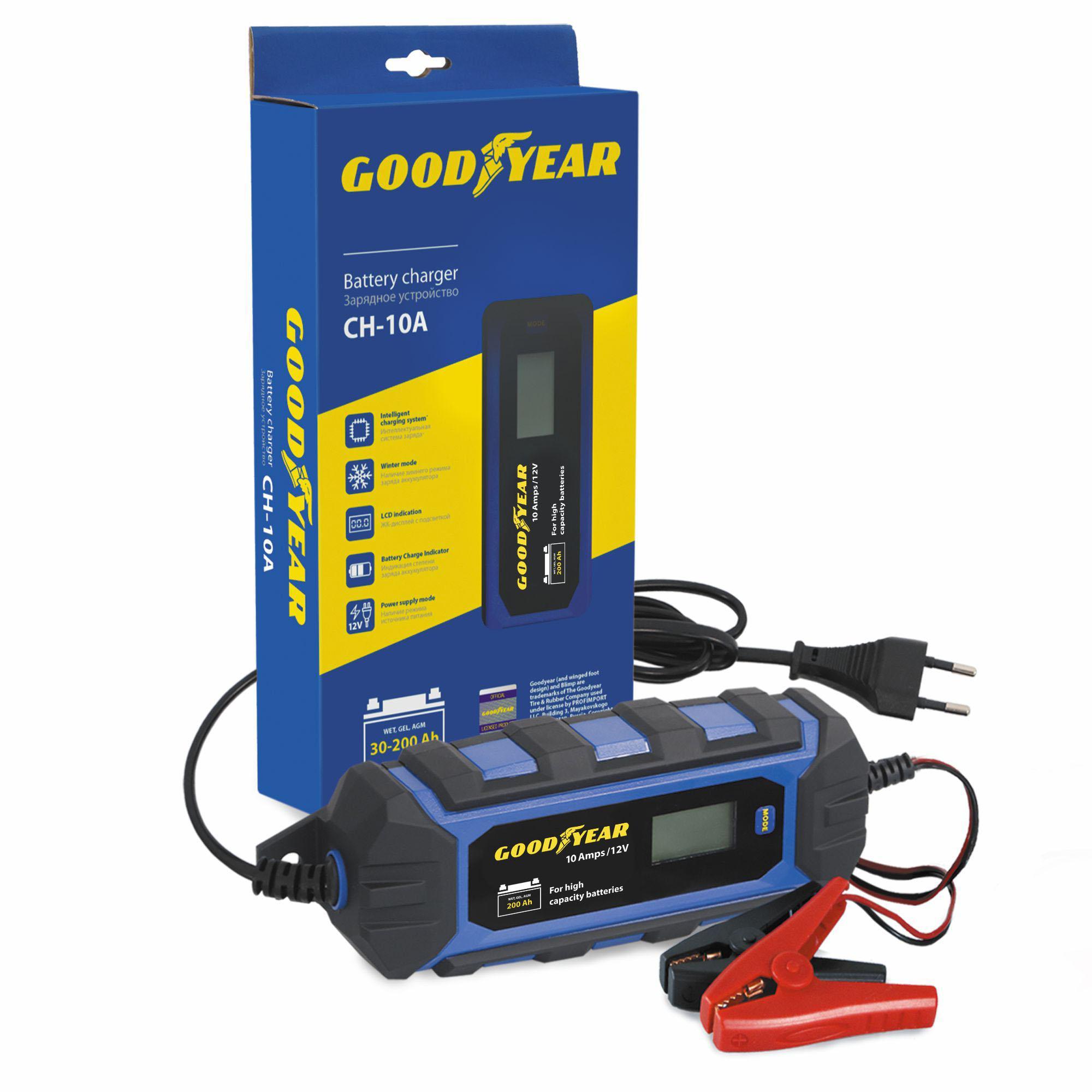 Зарядное устройство Goodyear Ch-10a (gy003003) зарядные устройства для электронных книг