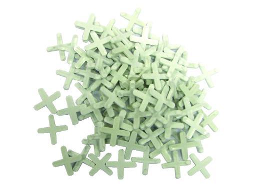 Крестики для кафеля BOHRER Bohrer крестик 1,5 мм (100 шт)
