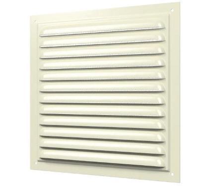 Вентиляционная решетка ERA 1515МЭ Al Ivory 150x150 мм