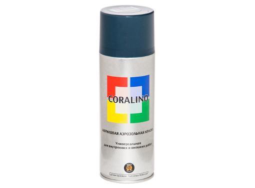 Краска аэрозольная CORALINO С16005 (RAL6005) Зеленый мох 0,52 л