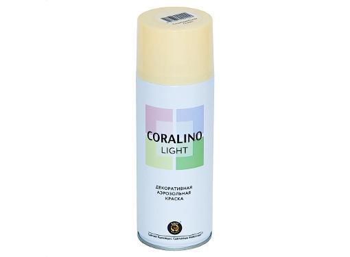 Краска аэрозольная CORALINO LIGHT CL1011 Слоновая кость 0,52 л