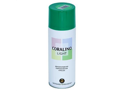 Краска аэрозольная CORALINO LIGHT CL1003 Весенняя зелень 0,52 л