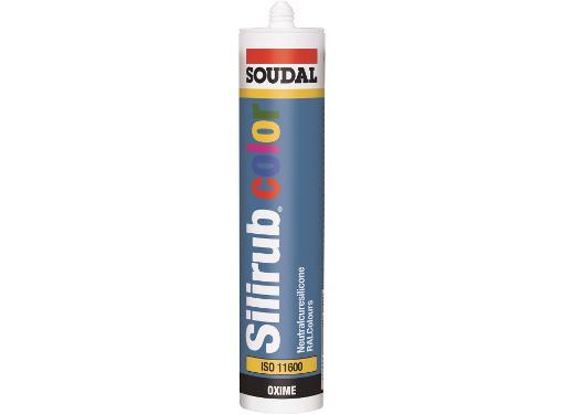 Герметик силиконовый SOUDAL 105822 Silirub COLOR