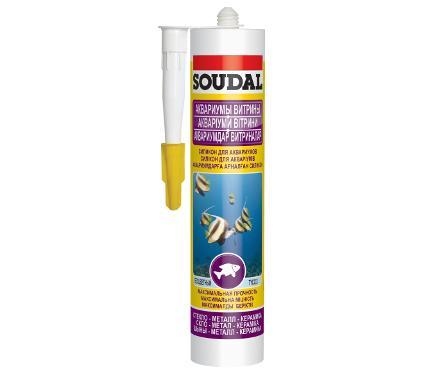 Герметик для аквариумов SOUDAL 126931чёрный