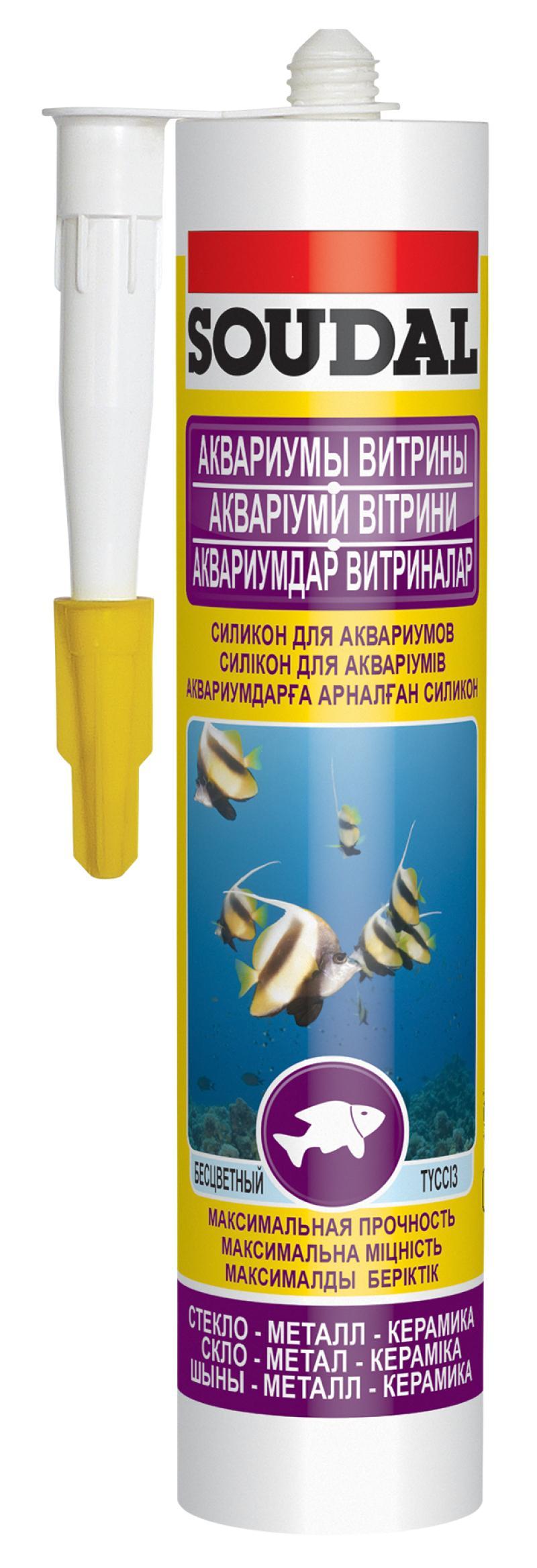 Герметик для аквариумов Soudal 126932