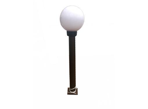 Опора ИНТЕРШИП СМ-600-01 металлическая, 600мм, чернаяя