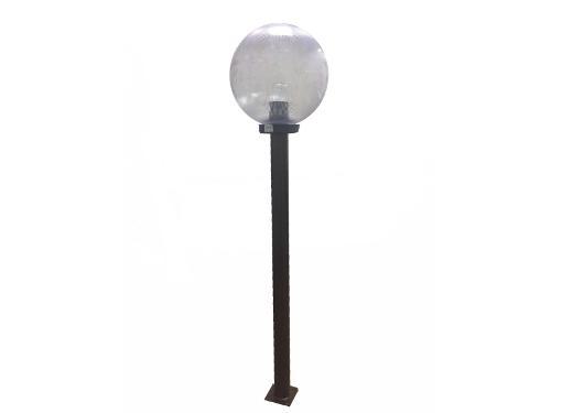 Опора ИНТЕРШИП СМ-1000-01 металлическая, 1000мм, черная