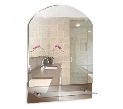 Зеркало MIXLINE 525468 Амели 390х565 (ШВ) с полкой
