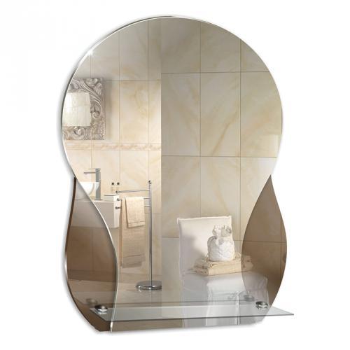 Зеркало Mixline 525480 Форум 415х575 (ШВ) с полкой