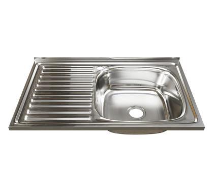 Мойка кухонная MIXLINE 528175 с сифоном