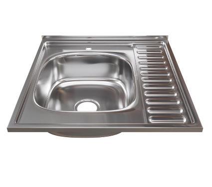 Мойка кухонная MIXLINE 528014 с сифоном