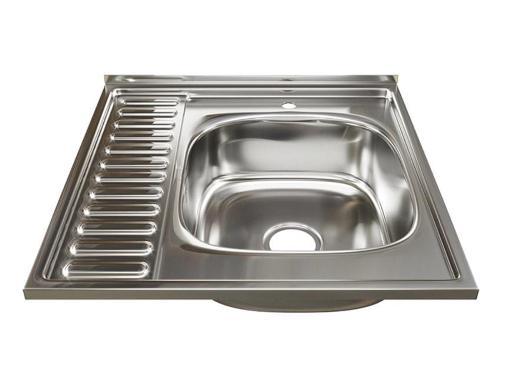 Мойка кухонная MIXLINE 528015 с сифоном