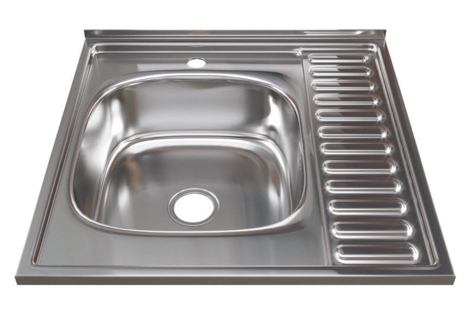 Мойка кухонная Mixline 528018 с сифоном