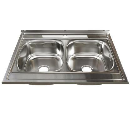 Мойка кухонная MIXLINE 528171 с сифоном