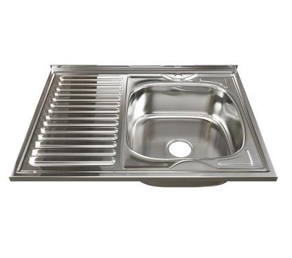 Мойка кухонная MIXLINE 528181 с сифоном