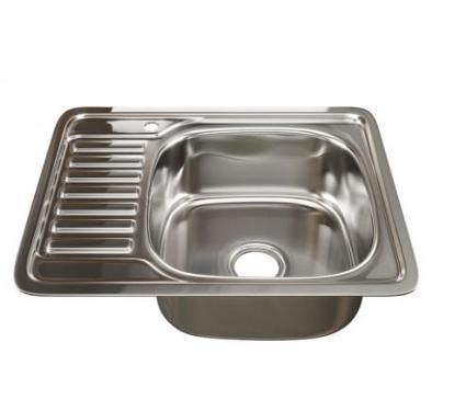 Мойка кухонная MIXLINE 529331 с сифоном