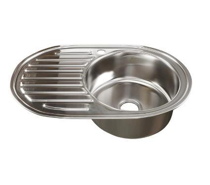 Мойка кухонная MIXLINE 533708 с сифоном