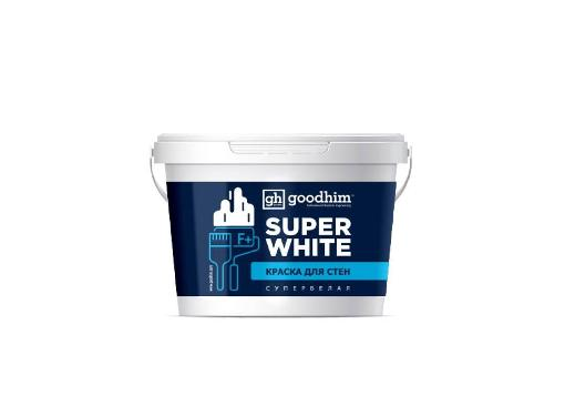 Краска GOODHIM F+ стандарт  супербелая 14 кг