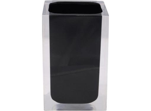 Настольный стакан RIDDER Colours 22280110 полирезин, черный матовый