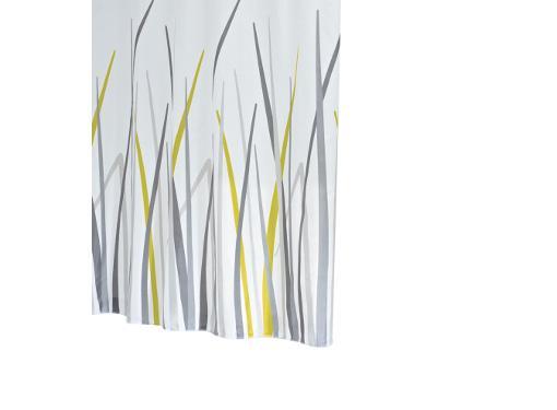 Шторка для ванной RIDDER Gras серый/серебряный 42385