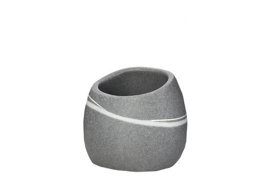 Настольный стакан RIDDER Little rock 22190107 серый