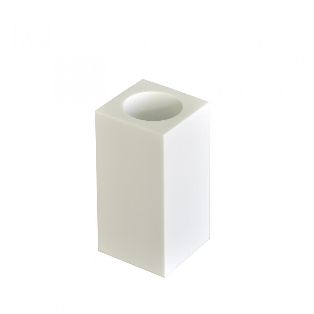 Настольный стакан Ridder Rom 22290101 белый