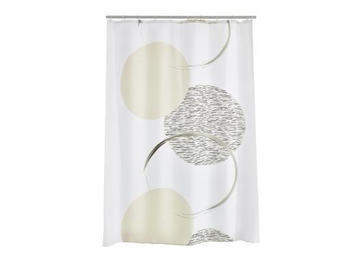 Штора для ванной комнаты RIDDER Sophy серый 47390