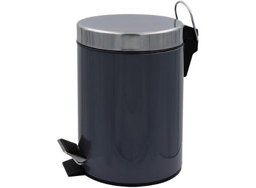 Ведро для мусора RIDDER (2008807) с педалью, серый