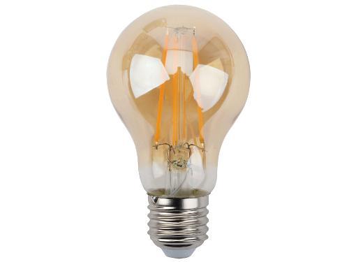 Лампа светодиодная ЭРА F-LED A60-11W-827-E27 gold (Б0035039)