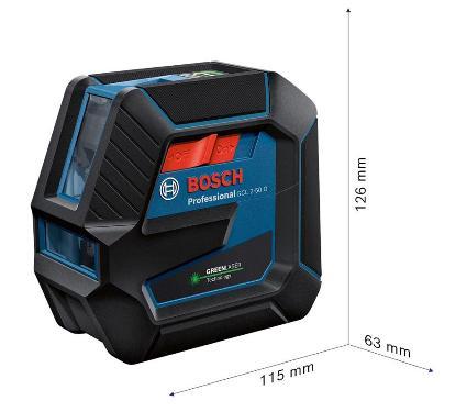 Уровень лазерный BOSCH GCL 2-50 G + RM 10