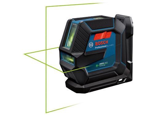 Уровень лазерный BOSCH GLL 2-15 G + LB 10 + DK 10 + кейс (0601063W02)