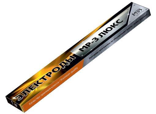 Электроды для сварки МЭЗ МР-3 ЛЮКС  2 мм, 1 кг