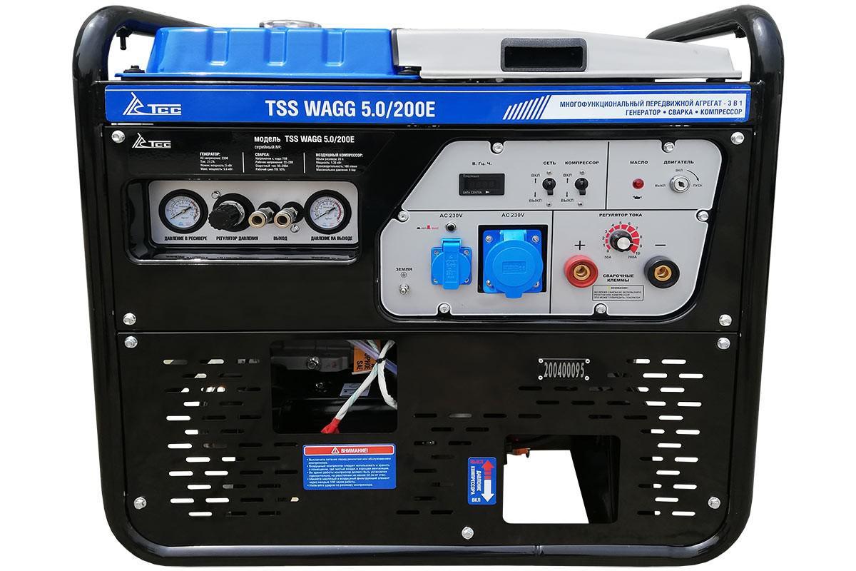 Многофункциональный агрегат ТСС Wagg 5.0/200e