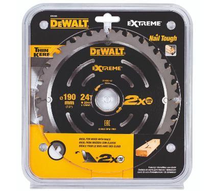 Диск пильный твердосплавный DEWALT DT4395-QZ Extreme