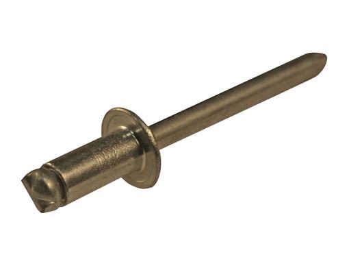 Заклепки вытяжные ЦКИ 3.2х6 мм (59542) 1000 шт.