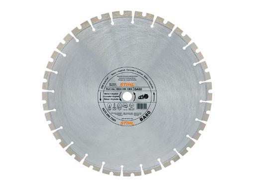 Круг алмазный STIHL (BA80) Ф350х20мм по асфальту
