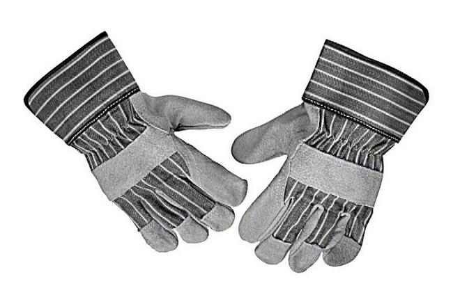 Перчатки спилковые Bosch из воловьей кожи (2.607.000.134) перчатки newton per7 ангара люкс комбинированные спилковые
