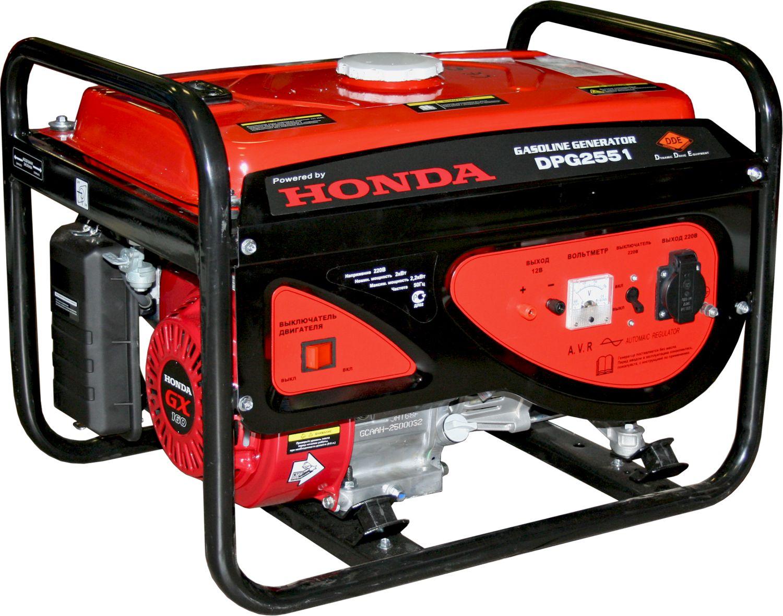 Бензиновый генератор Dde Dpg2551