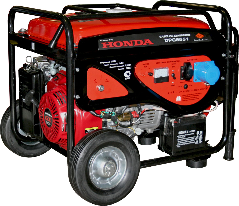 Бензиновый генератор Dde Dpg6551 цена и фото